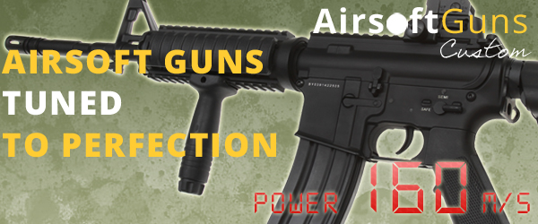 AirsoftGuns | Custom power upgrade airsoft guns