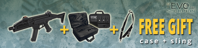 Gift package for CZ Scorpion EVO 3 A1 - sling and case for free | AirsoftGuns