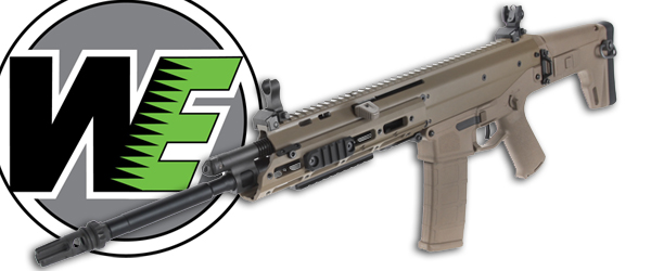 WE Tech gbb and gbbr in stock