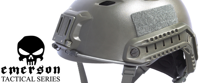 Tactical helmets from Emerson