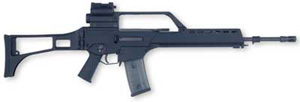 The basic version of the G36 rifle