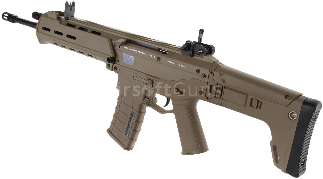 Acr Airsoft Gun masada, acr, magpul pts, tan, a&k, mod2 | airsoftguns