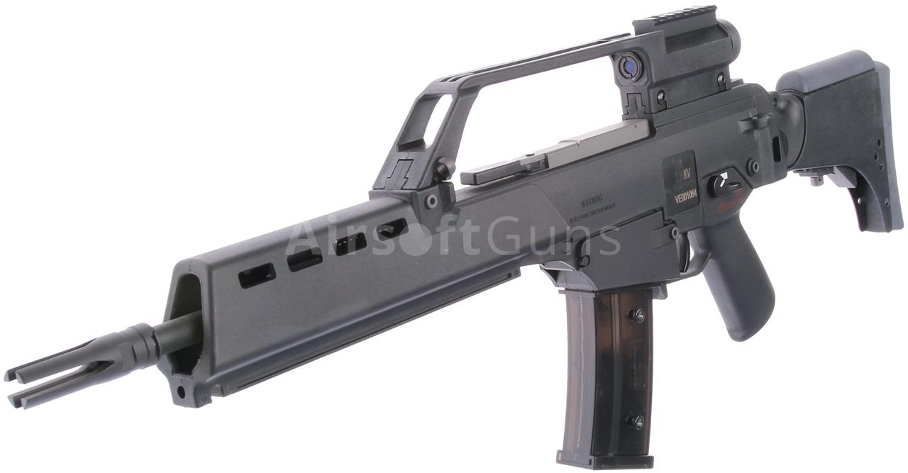 H&K G36KV, blowback, black, Umarex