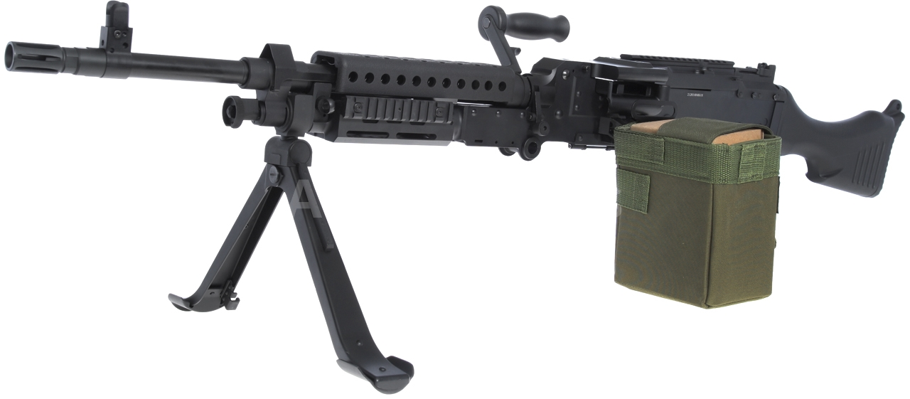 M240b Airsoft M240B, Golden Eagle, 6...