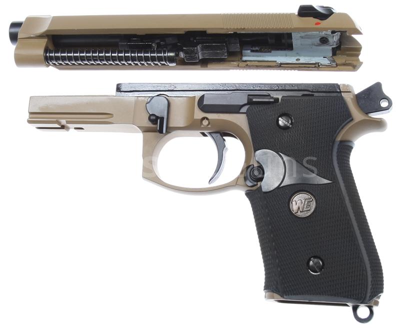 M9, M92 series : Beretta M9A1, gas blowback (GBB)