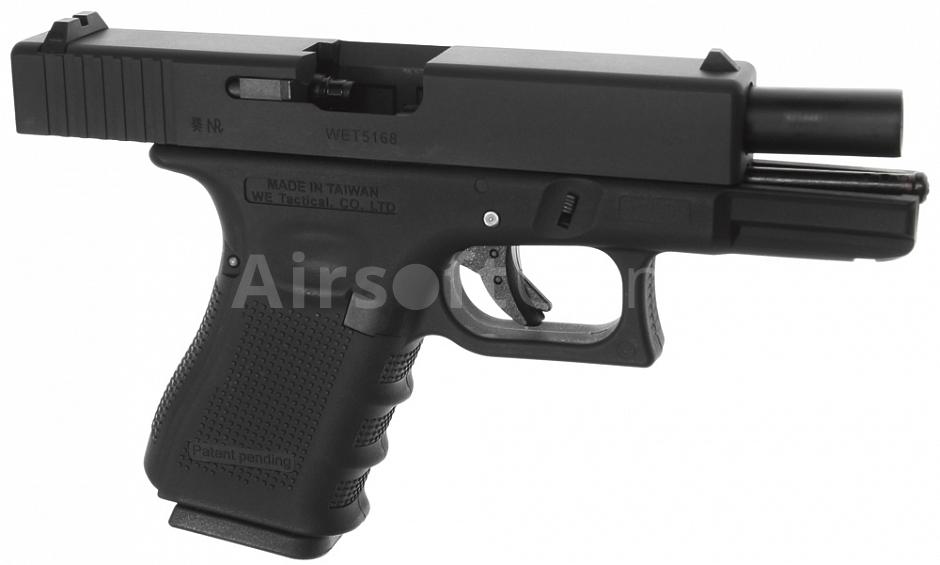 Glock 19, frame 4  gen , black, GBB, WE