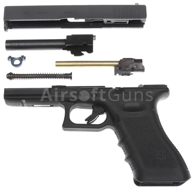 Glock 17, frame 3. gen., black, GBB, WE | AirsoftGuns