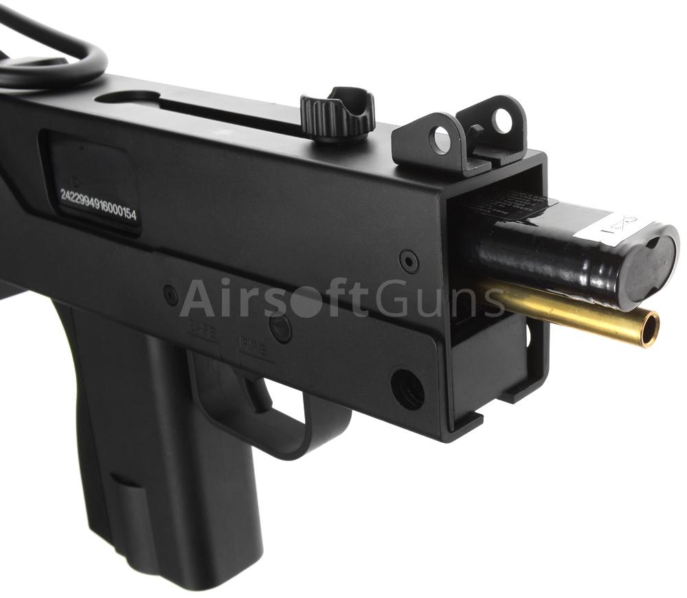 Mac 10 Aep Silencer Jing Gong Jg0452 Airsoftguns Air Soft Gun Src Jg Mac10 0452 Tl