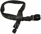 Tactical sling, three-point, soft, MP5, G3, black, Classic Army
