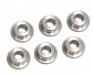 Bushings, steel, oilless, 6mm, double oil channel, Guarder