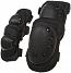 Knee and elbow pads set, SWAT, black, ACM