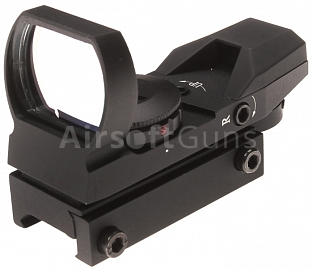 Open red dot sight, tactical, ACM