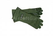 Nomex gloves, OD, Strike