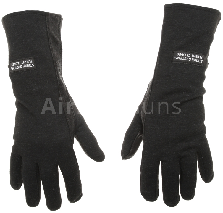 Nomex gloves, black, Strike