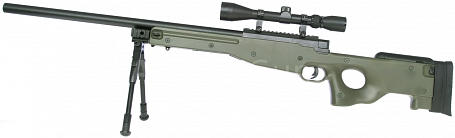 L96A1, OD, bipod, scope, Well, MB01C