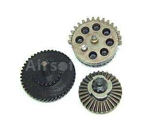 Set of gears, helical teeth, super high torque, Classic Army