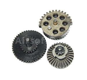 Set of gears, helical teeth, torque, Classic Army