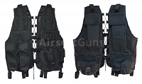 Tactical vest, mod. 2009, P, black, AirsoftGuns