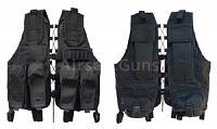 Tactical vest, mod. 2009, S, black, AirsoftGuns