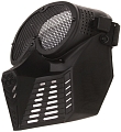 Protective mask, with mesh, small, black, ACM