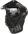 Protective mask, with lens, large, black, ACM