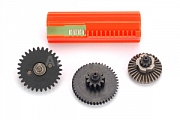 Set of gears, helical teeth, Max, Element