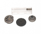 Set of gears, flat teeth, high speed, Element