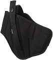 Double side belt holster, black, Dasta