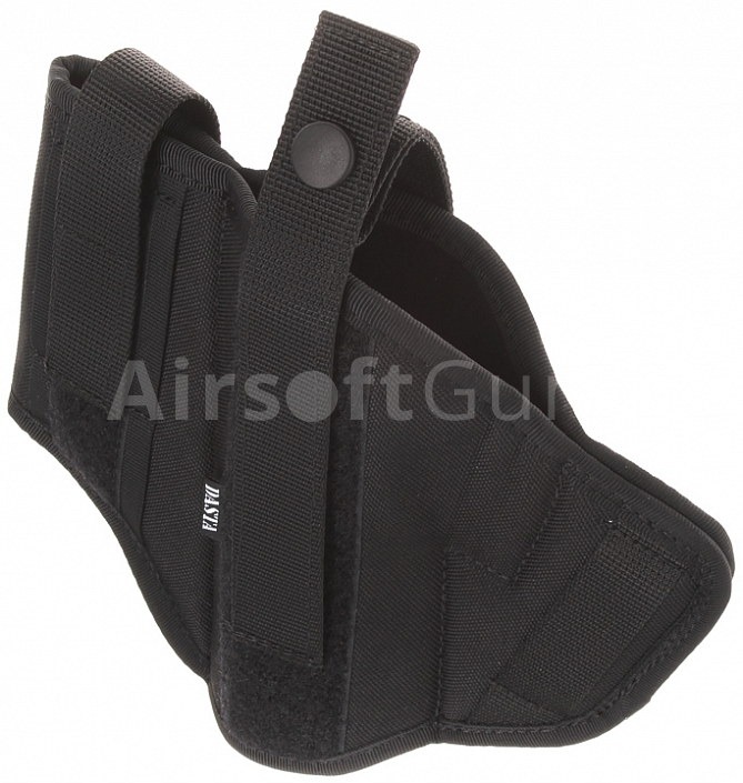 Double side belt holster PLUS, black, Dasta