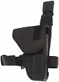 Tactical holster with flap, black, Dasta