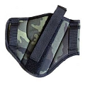 Double side belt holster, camouflage, Dasta