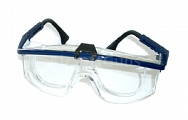 Safety glasses with correction frame, clear, Uvex