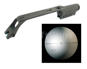 Carrying handle with scope, G36, G&P