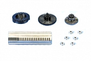 Set of gears, flath teeth, super high torque, for PSG1,Systema