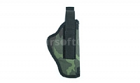 Side belt holster, camouflage, Dasta