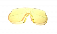 Lens for glasses, ACR vz. 2001, yellow Uvex
