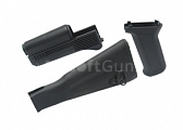 Stock kit for AK-47, black, King Arms