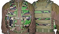Tactical vest, woodland, FCG