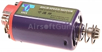 Short motor, high speed, SHS