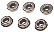 Bushings, steel, oilless, 7mm, SHS