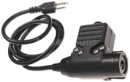 Headset cable, U94 PTT, ICOM, COBRA, ALINCO, Z.Tactical
