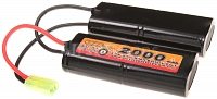 Battery, M15, M4, 9.6V, 2000mAh, VB Power