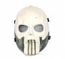 Protective mask, SKULL, large, bright, ACM