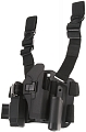 Tactical holster, Glock CQC, black, blackhawk