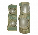 Knee and elbow pads set, OD, ACM