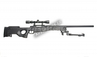 L96A1, black, bipod, scope, AGM, MP002B2