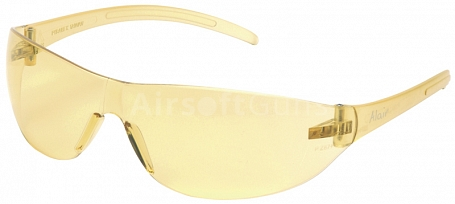 Protective glasses, yellow, ASG