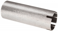 Polished stainless steel cylinder AK, grooved, O slot, SHS