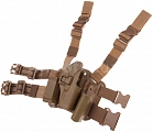 Tactical holster, Glock CQC, TAN, blackhawk