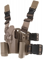 Tactical holster, Glock CQC, FDE, blackhawk